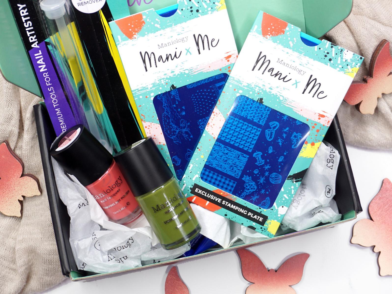 August Mani X Me Box Picknick Nailart